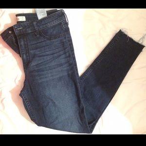hollister jeans, high waisted
