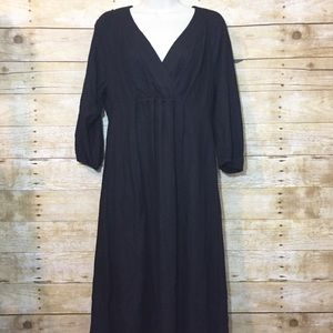 Boden black casual dress