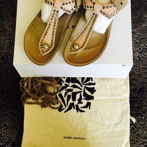 Isabel Marant Bow Tie Sandals