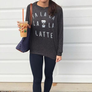 Fa La La La La Latte Women's Top