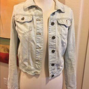 EUC light wash denim jacket from Nordstrom
