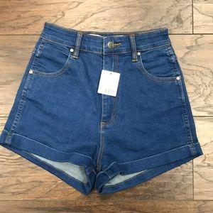Urban X Wrangler pin up shorts