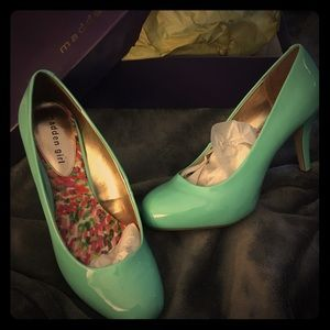Getta Spearmint (Tiffany) Madden Girl Shoes - 10