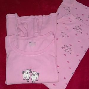 Womens Thermal Pajama Set/Small