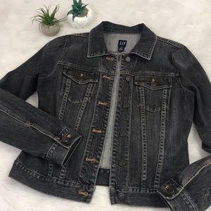Washed Out Oversized Denim Jacket