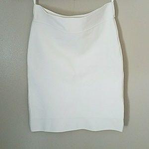 BCBG MAXAZRIA  white skirt