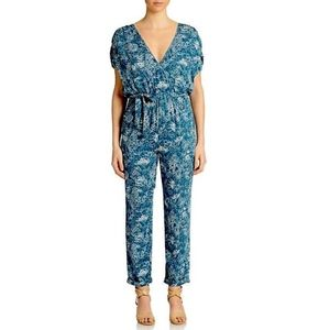 FREE PEOPLE Woven Romper Intricate Casual Jumpsuit