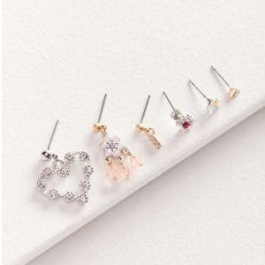 UO Roxi Mismatched single Post Earring Set NEW!