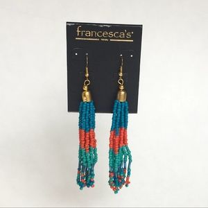 Francescas Multilayer Seedbeed Earrings