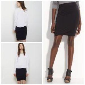 Alexander Wang Bubble Hem Skirt
