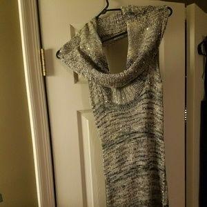 Arden B. Sexy thin sweater dress