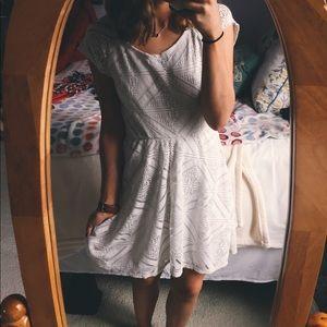 As U Wish White Lace Dress