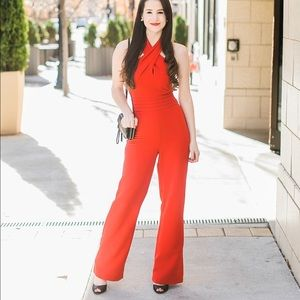 NWT Red Adelyn Rae Jumpsuit