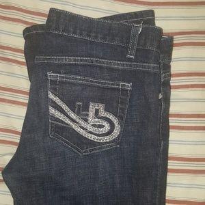 Bebe Denim Flare Jeans