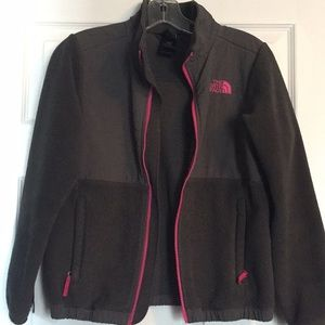 North Face Fleece in Grey youth 10/12