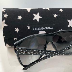 Authentic dolce & gabbana star sunglasses