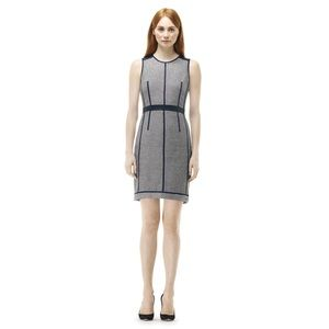 Club Monaco Tweed and Leather Dress