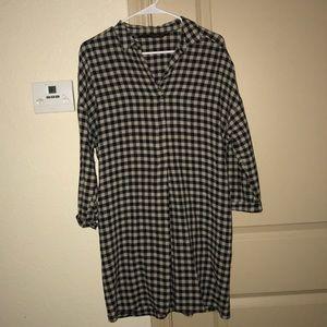 ZARA wool dress