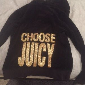 Black medium sized juicy sweatshirt