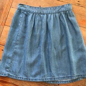Madewell Light Denim Skirt // NEVER WORN