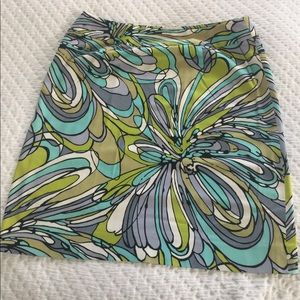Etcetera Pucci Style Printed Skirt
