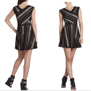BCBGMazAzria Jasmine A-line sleeveless dress
