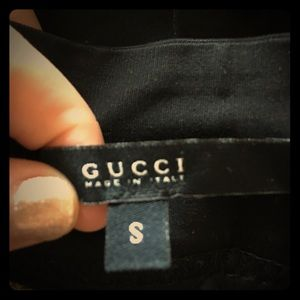 Authentic Gucci Black knee length Skirt.