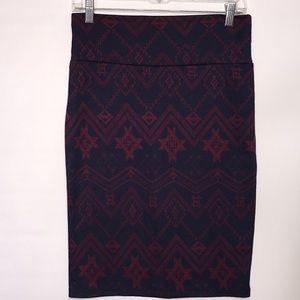 LuLaroe Cassie Pencil Skirt SMALL