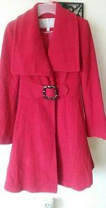 Jessica simpson red coat