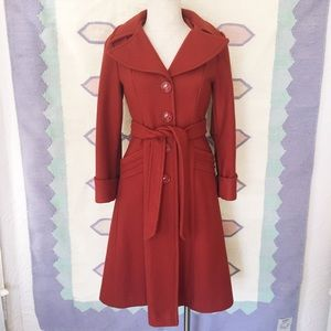 Vintage Union Made Red Coat