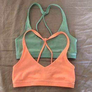 Underarmor sports bras size XS