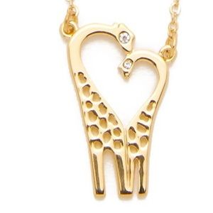 Brand new Kate Spade giraffe necklace
