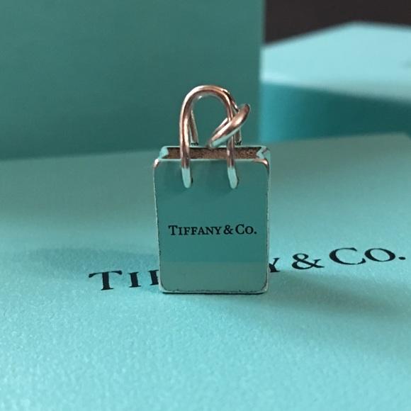 770f7bbc7a Tiffany & Co. Jewelry | Tiffany Co Shopping Bag Charm | Poshmark
