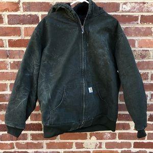 Carhartt Active Jac Jacket Sandstone Distressed XL