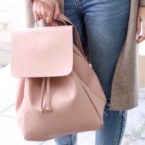 Pink Zara backpack