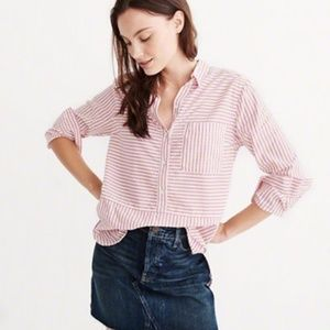 Abercrombie & Fitch Mixed Stripe Shirt