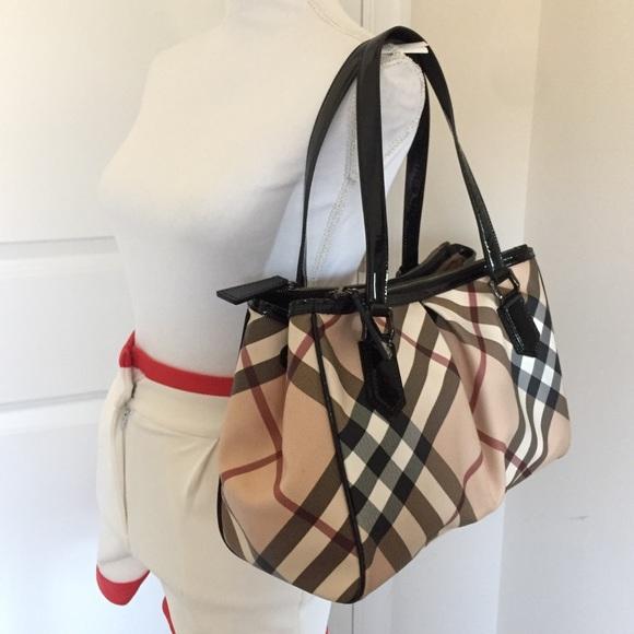 03da965a15d Burberry Handbags - NWOT Burberry supernova check mulberry tote bag