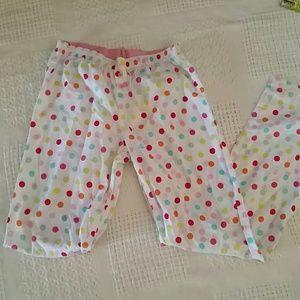 Victoria's secret Pink polkadot pajama pants s