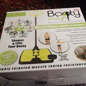 Booty Max Other - Booty Max Home Workout Resistance Band TrainingNWT