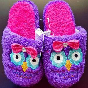 Other - NWOT Girl's Owl Houseshoes