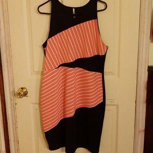 2x-3x plus size women's dress