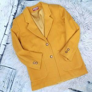 AEO Wool Boyfriend Grandpa Chic Wool Blazer Jacket