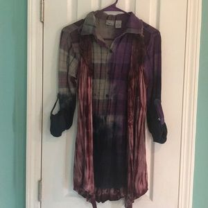 Daytrip Button up top with vest