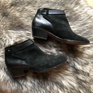Madewell Black leather booties
