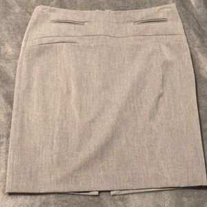 Women's grey skirt express