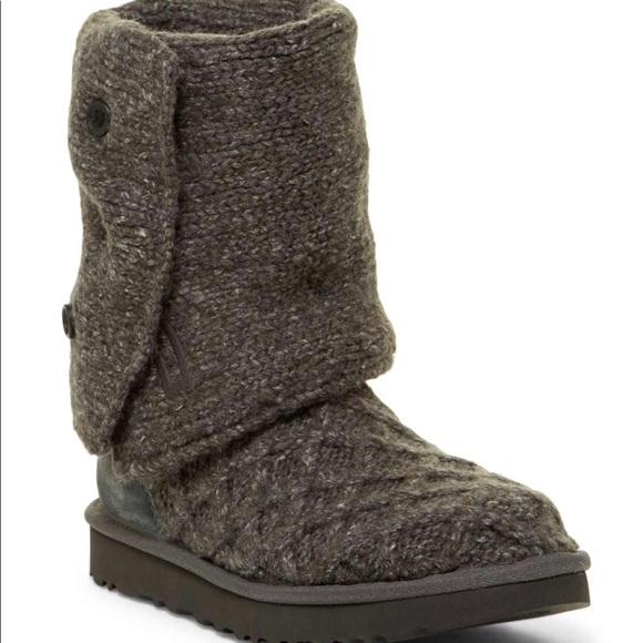 9fbb1784fb8 UGG Australia Lattice Cardy Boots NWT