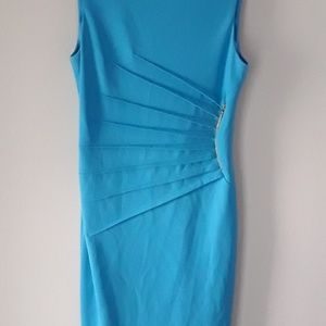 Turquoise Ivanka Trump Dress