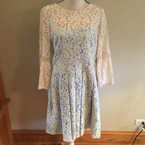 NWT plus Eliza J lace dress size 16