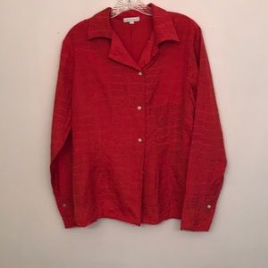 Lovely 100% designer silk shirt