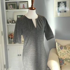 Diane Von Furstenberg Gray Wool Dress.
